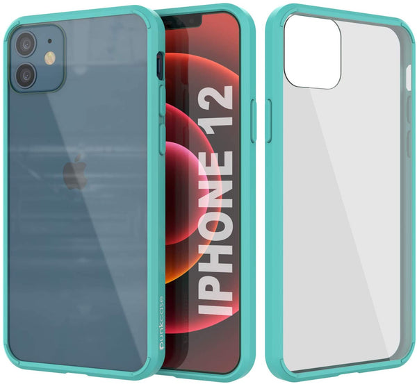 iPhone 12 Case Punkcase® LUCID 2.0 Teal Series w/ PUNK SHIELD Screen Protector | Ultra Fit