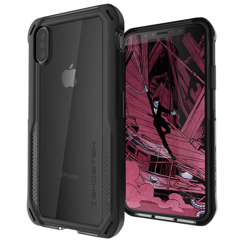 iPhone Xs Case, Ghostek Cloak 4 Series for iPhone Xs / iPhone Pro Case | BLACK