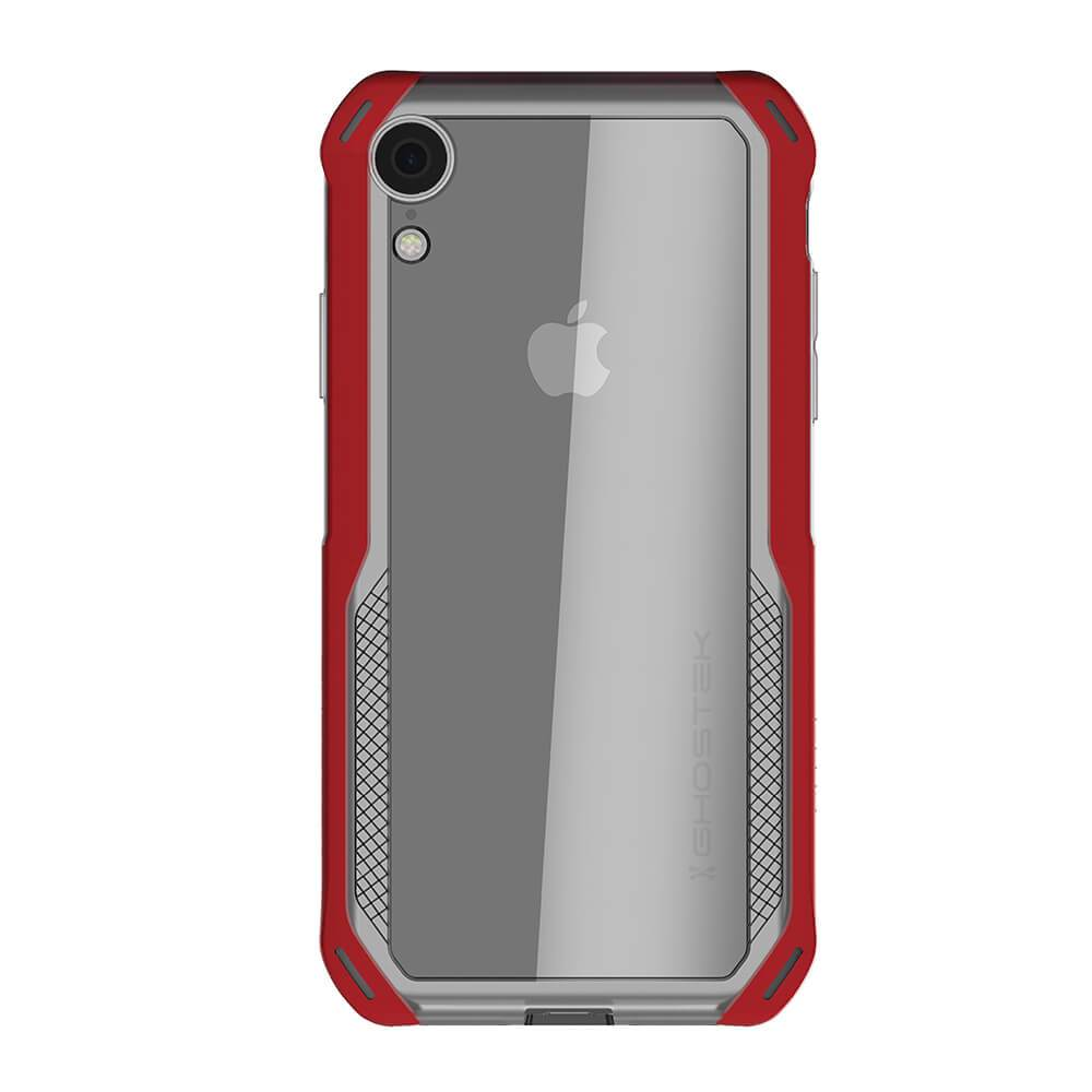 iPhone Xr Case, Ghostek Cloak 4 Series  for iPhone Xr / iPhone Pro Case | RED-CLEAR