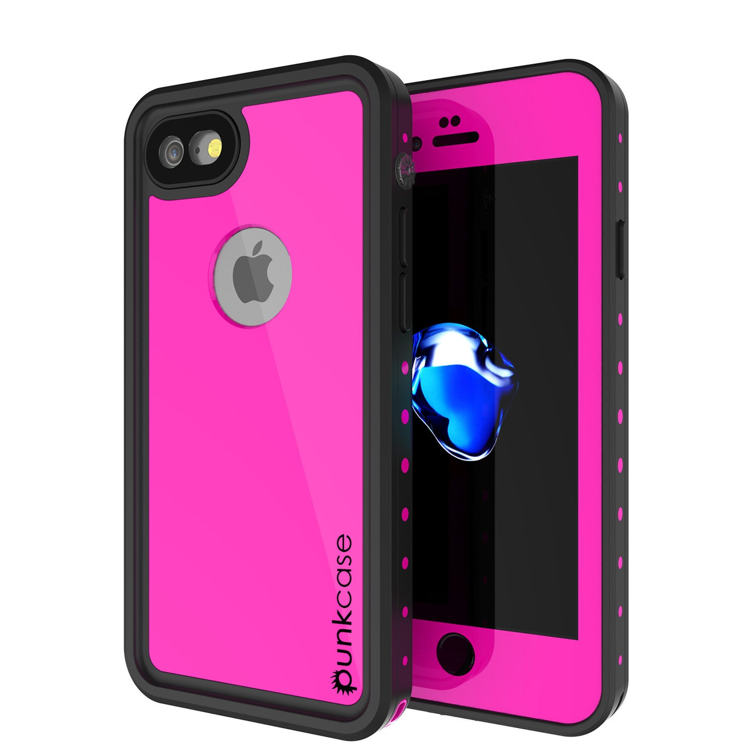 PUNKCASE - Studstar Series Snowproof Case for Apple IPhone 7 | Pink