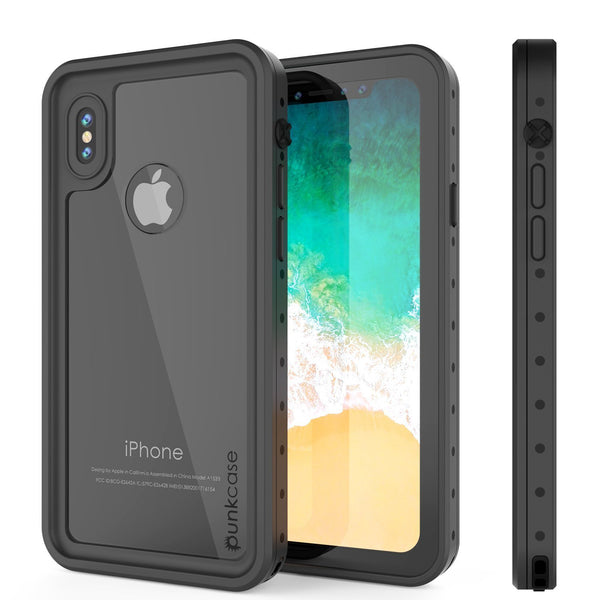 iPhone XR Waterproof IP68 Case, Punkcase [Clear] [StudStar Series] [Slim Fit] [Dirtproof]