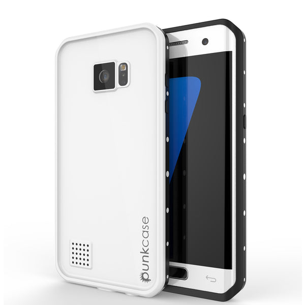 PUNKCASE - Studstar Series Snowproof Case for Galaxy S7 Edge | White
