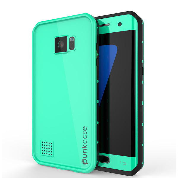PUNKCASE - Studstar Series Snowproof Case for Galaxy S7 Edge | Teal