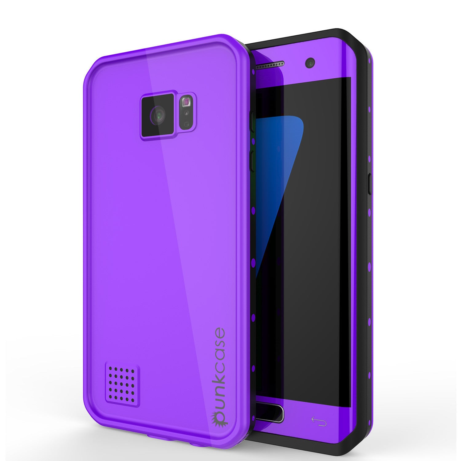 PUNKCASE - Studstar Series Snowproof Case for Galaxy S7 Edge | Purple