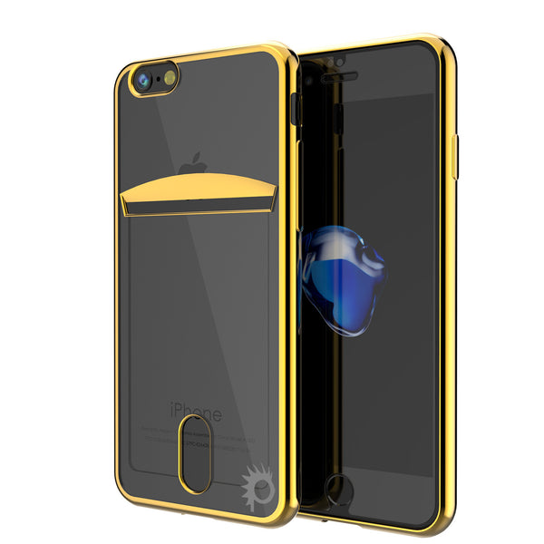 PUNKCASE - Lucid Series Premium Impact Case for Apple IPhone 7 | Gold