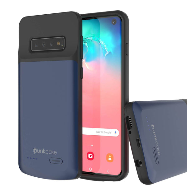 PunkJuice S10 Battery Case Reg. Blue - Fast Charging Power Juice Bank with 4700mAh