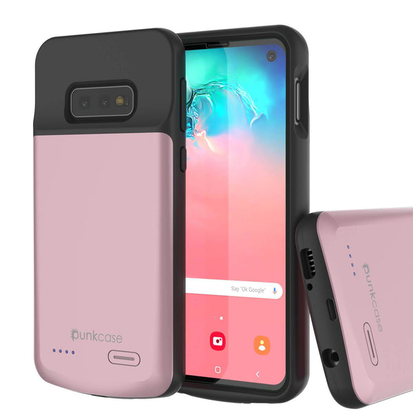 PunkJuice S10e Battery Case Rose - Fast Charging Power Juice Bank with 4700mAh
