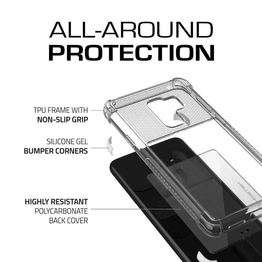 Galaxy S9+ Plus Case | Covert 2 Series | [White]