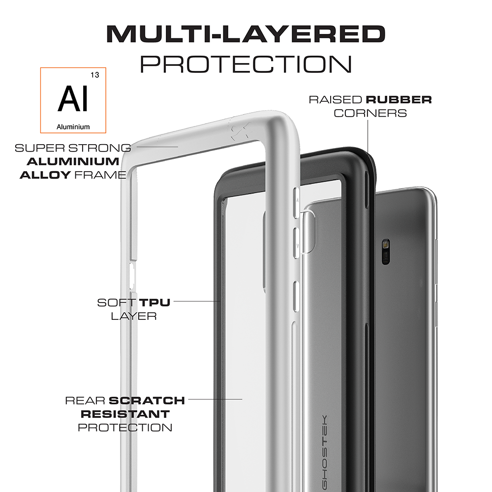 Galaxy S9+ Plus Rugged Heavy Duty Case | Atomic Slim Series [Gold]