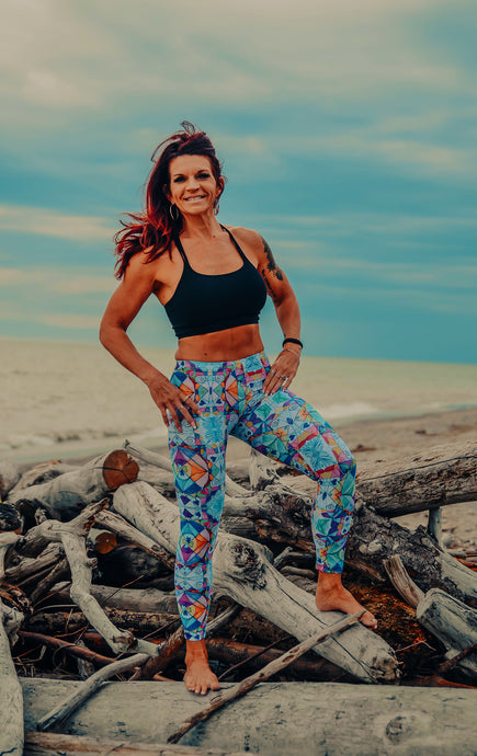 Wearable Art Yoga Leggings