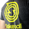 Spikeball T-Shirt Tri-Black/Yellow