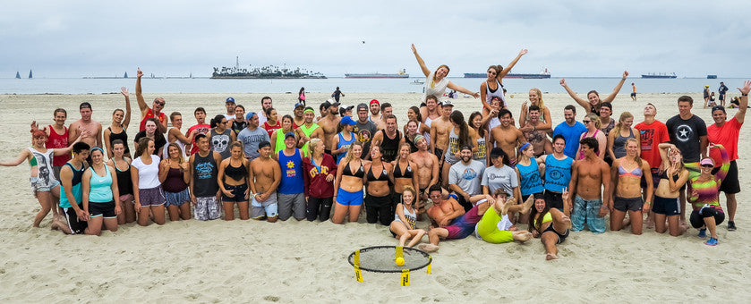This is Spikeball