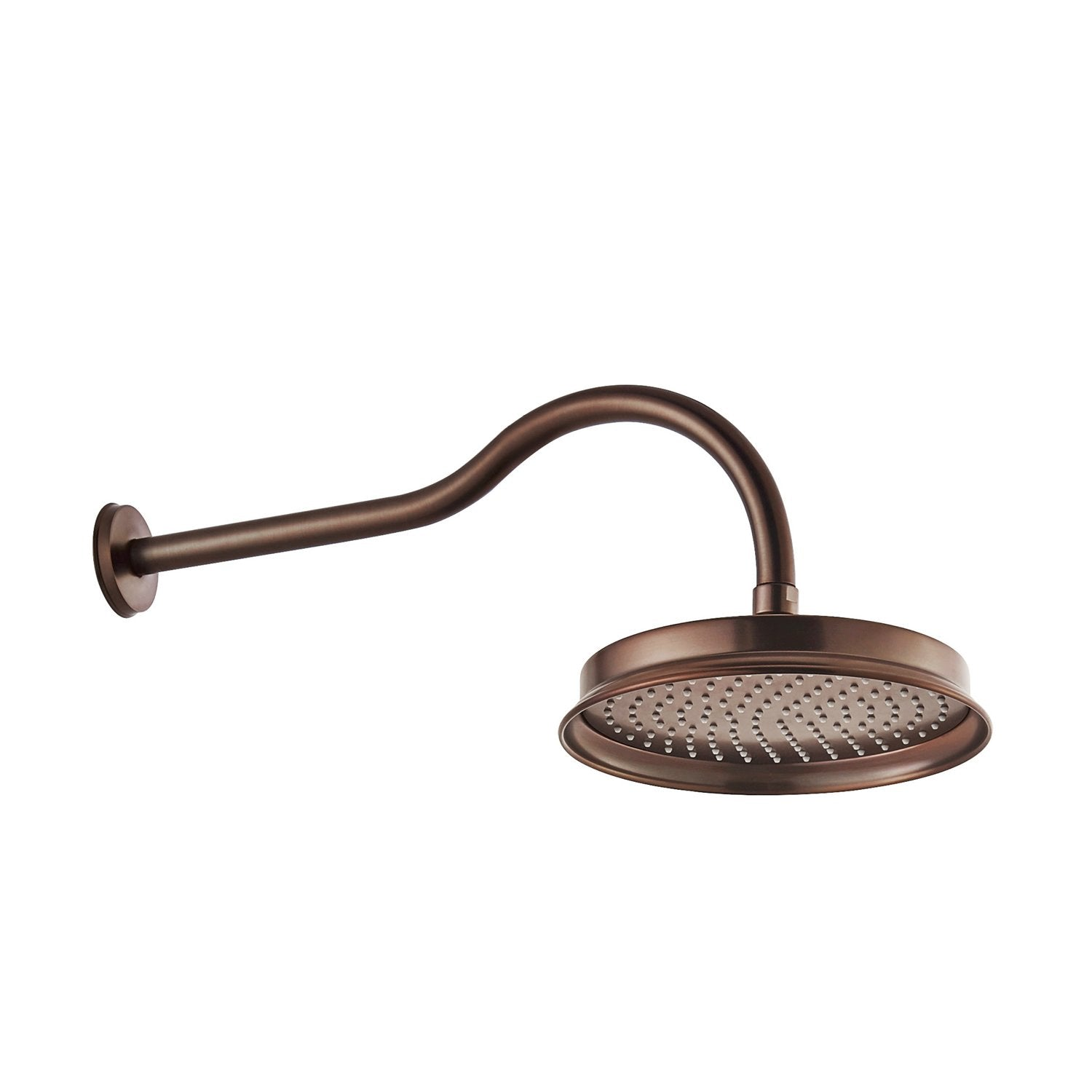 Dax Round Rain Shower Head Wall Mount Brass Body Oil Rubbed Bronze Finish Diameter 8 7 8 Inches Dax B15 Orb