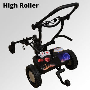 "CaddyTrek R2 Limited Edition ""Sunrise"" Remote Control and Follow Lithium Trolley (Free Accessories and Shipping)"