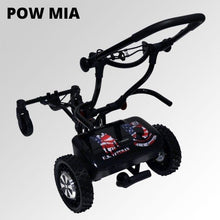 "Load image into Gallery viewer, CaddyTrek R2 Limited Edition ""POW MIA"" Remote Control and Follow Lithium Trolley (Free Accessories and Shipping)"