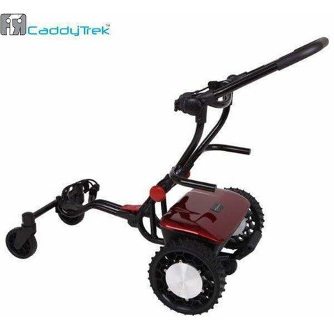CaddyTrek Remote Controlled and Follow Lithium Trolley (Free Accessories)