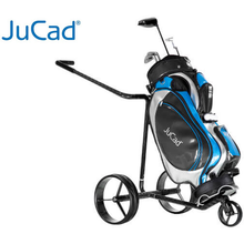 Load image into Gallery viewer, JuCad Carbon Travel Lithium Remote Control Electric Caddy (Free accessories)
