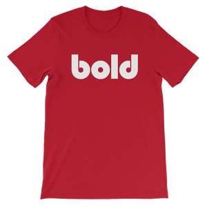 Bold Short Sleeve T-Shirt