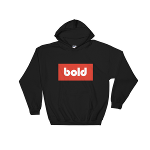 Bold Pullover Hooded Sweater
