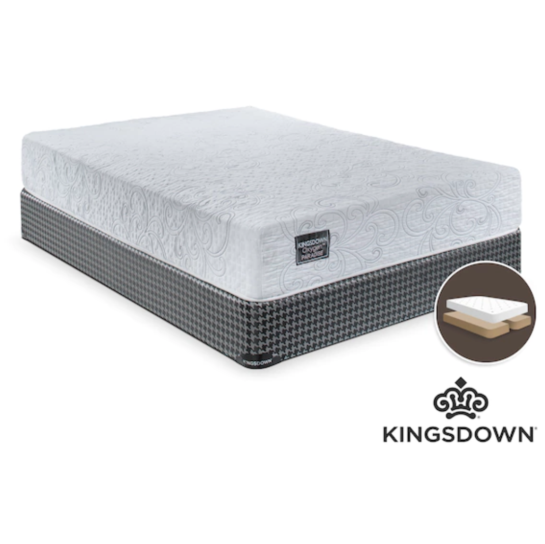 Kingsdown Celestial Firm King Mattress and Boxspring Set