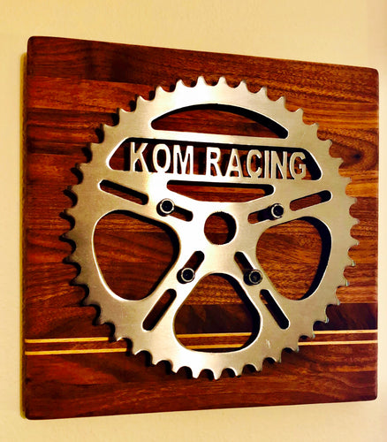 KOM Racing Wall-Mounted Chainring