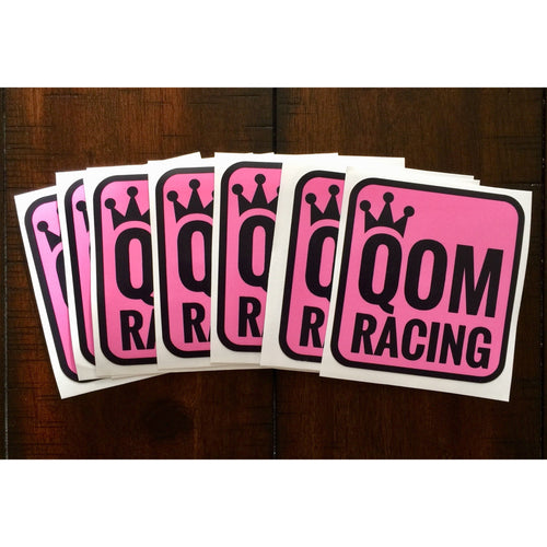 QOM RACING decal