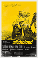 WITCHBLOOD #1 Glow-In-The-Dark Movie Poster Cover (Limited Edition of 100 Copies)