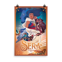 Sera & The Royal Stars One Sheet (24X36) Poster - The Saga