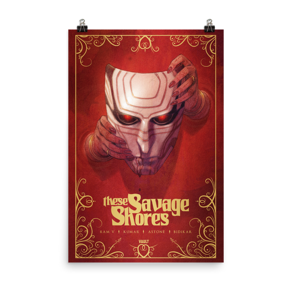 These Savage Shores (24 X 36) Poster