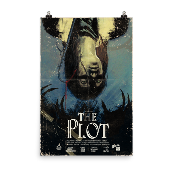 The Plot One Sheet (24X36) Poster - Paperback