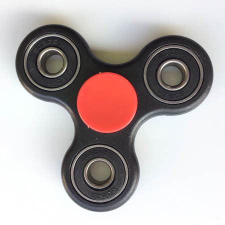 Tri Fidget Spinner - Black