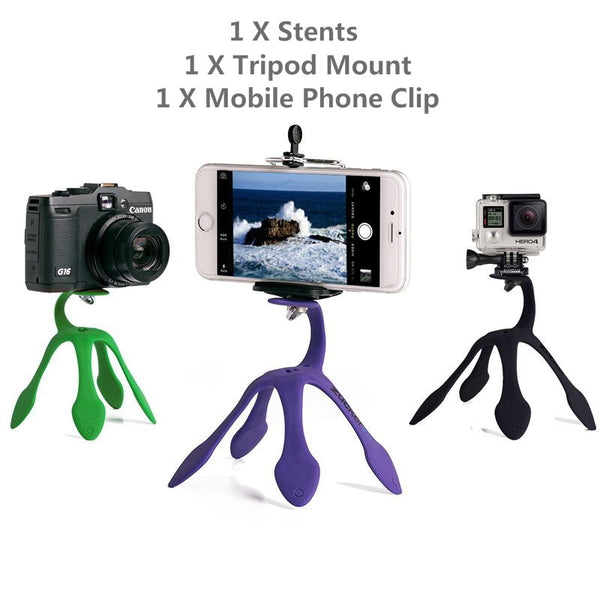 Mini Tripod Flexible Holder