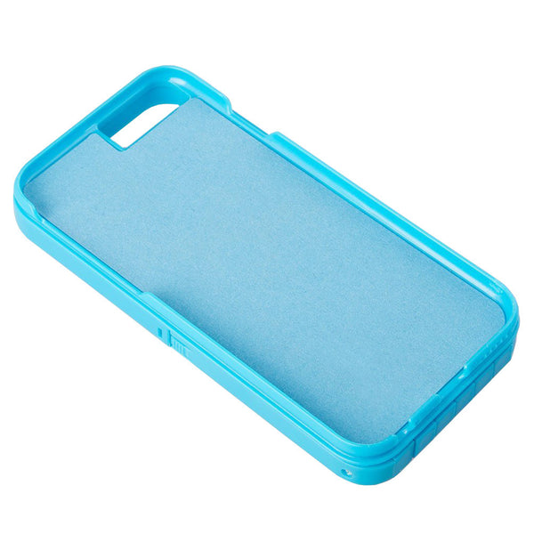 Blue selfie phone case