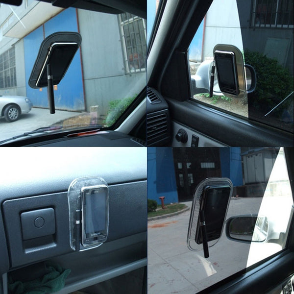 Anti-Slip Mat sticks well to your car on window and dashboard