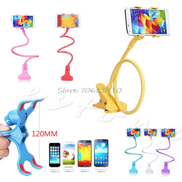 Universal Lazy Bed 360 Rotating Mount Clip Phone Stand