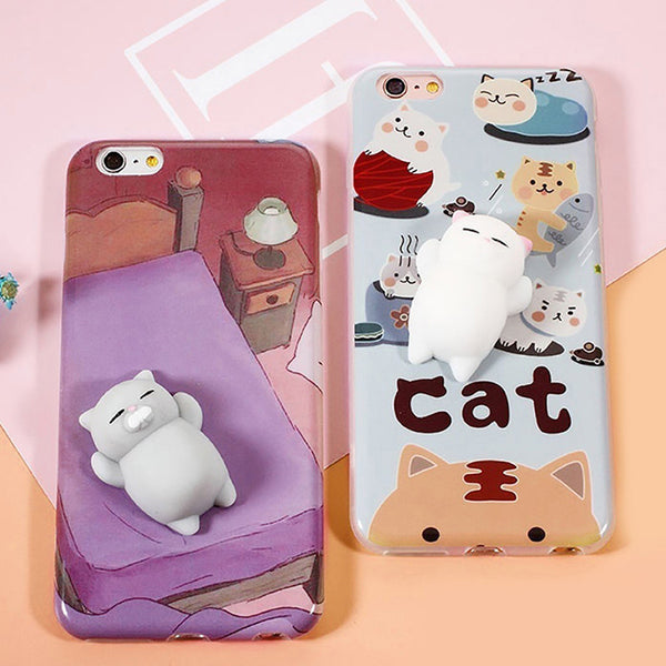 Squishy Cat Phone Case