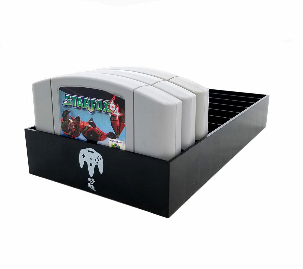 N64 Game Organizer, Dust Cover, Cartridge Holder - Collector Craft
