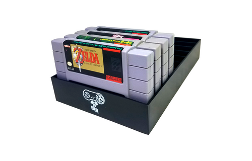SNES Game Organizer, Dust Cover, Cartridge Holder