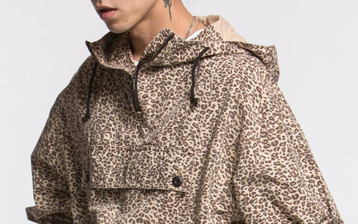 CANDOR Drops Leopard Anorak Parkas for New AW18 Collection, TRANSMISSION EMOUSSE
