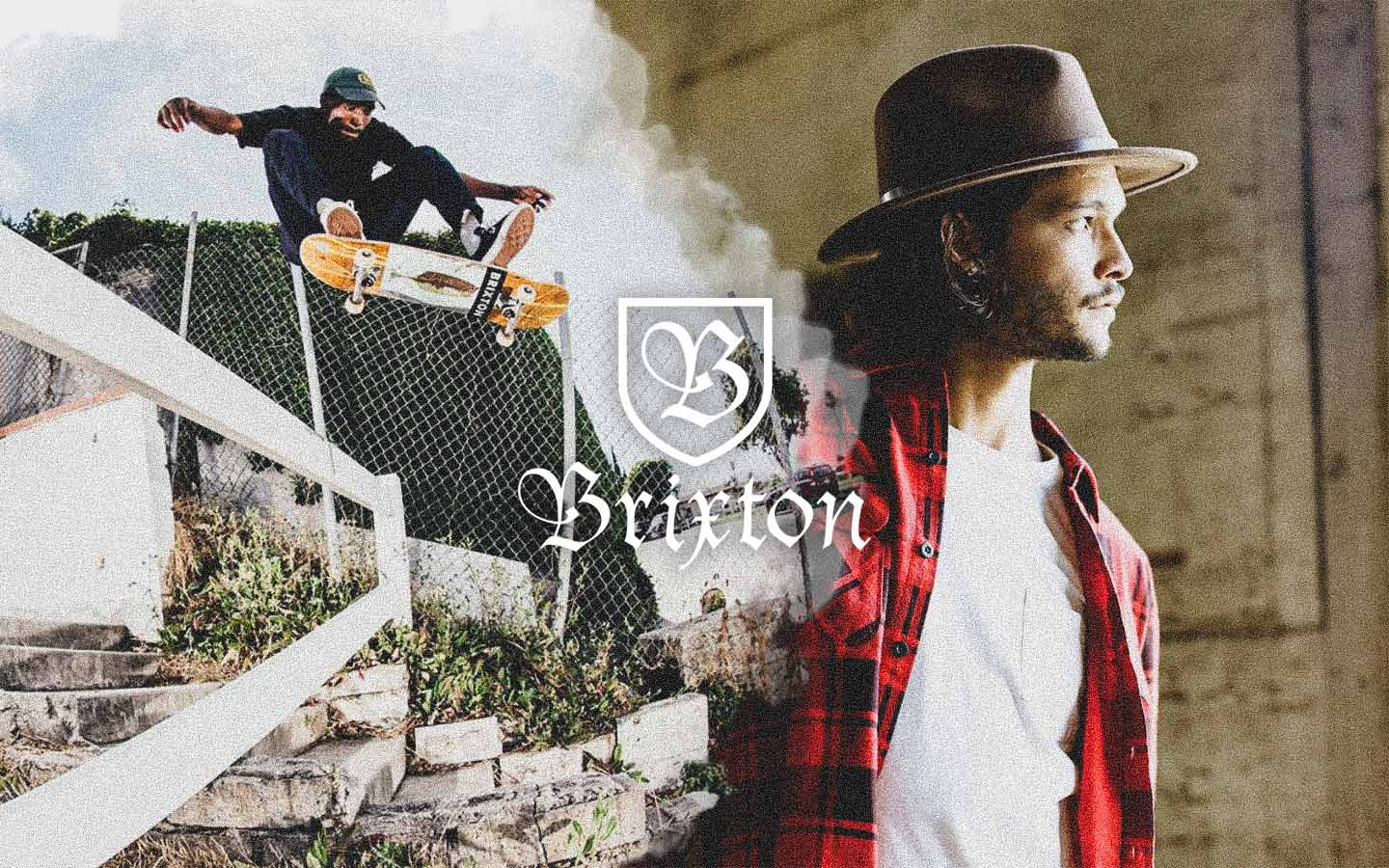 brixton new men's jackets denim plaid pants on thedrop for fall 2019