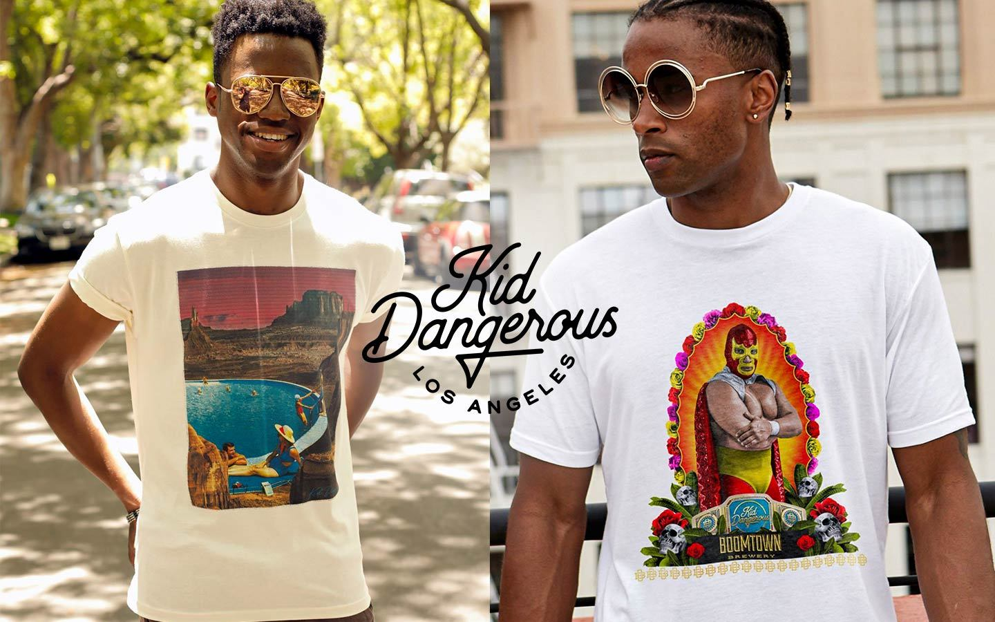 kid dangerous men's t-shirts and funny themed streetwear tees on thedrop