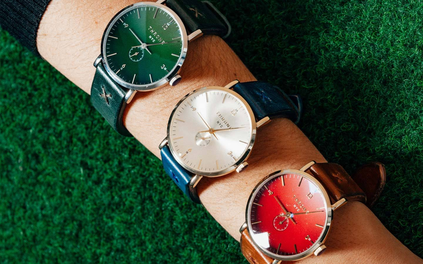 throne watches a brooklyn based accessories and time piece brand from new york on thedrop