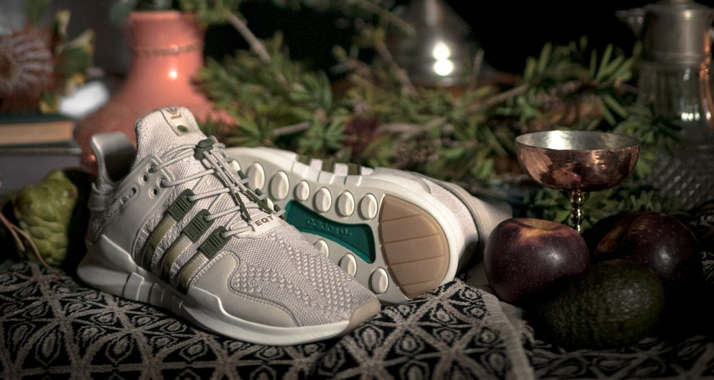 Highs and Lows x adidas Consortium EQT Support ADV sneaker limited release collection