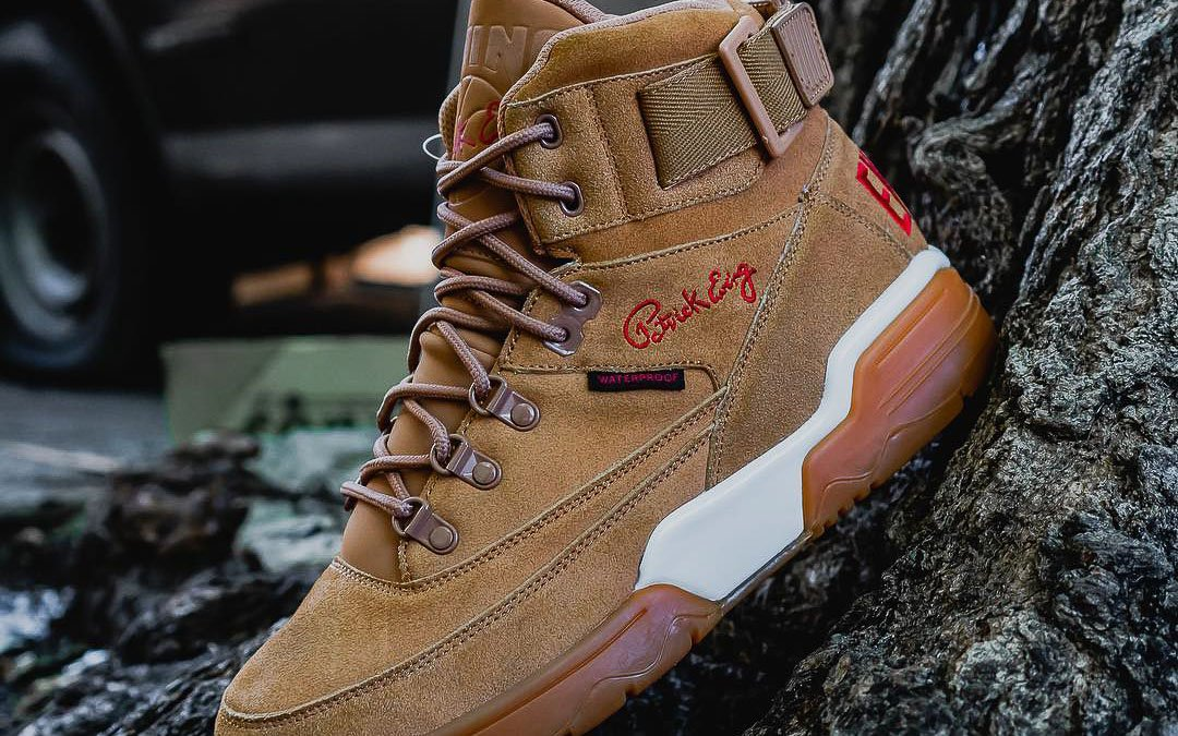 ewing 33 hi winter nubuck leather sneaker boot limited edition thedrop