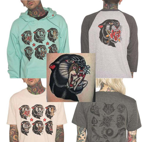 tattoo artist jake thorsell's collection and collab with ink addict streetwear brand on thedrop