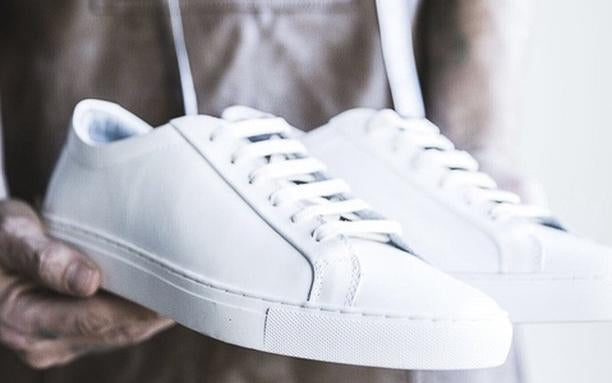 7 seven all white sneakers to bolster your sneaker game and dress like an adult