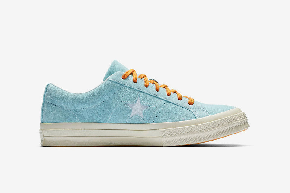 collab of converse one star and tyler the creator