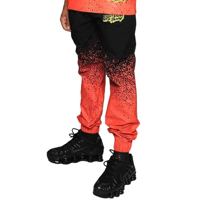 8 9 Clothing Co. pro comp nylon joggers black pants and joggers TheDrop