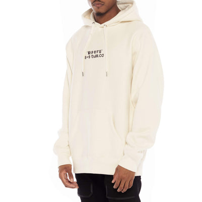8 9 Clothing Co. super heavy premium embroidered hoodie bone jackets and outerwear TheDrop