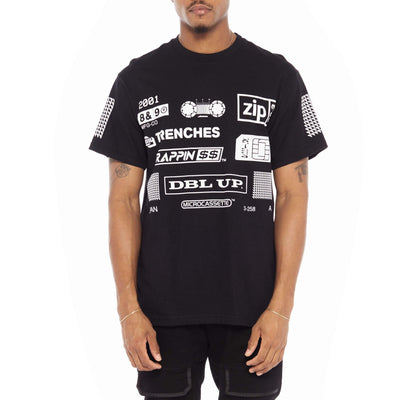 8 9 Clothing Co. trappin t shirt black tees TheDrop